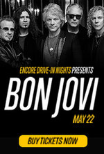BON JOVI ENCORE DRIVE-IN NIGHTS CONCERT